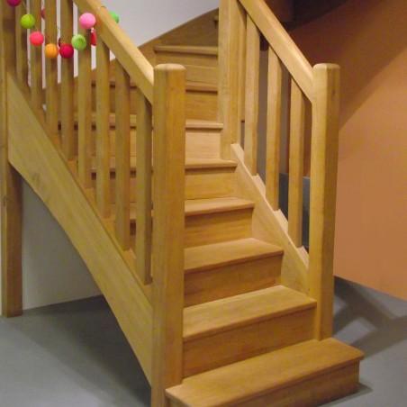 escalier en bois sur mesure pas cher. Black Bedroom Furniture Sets. Home Design Ideas