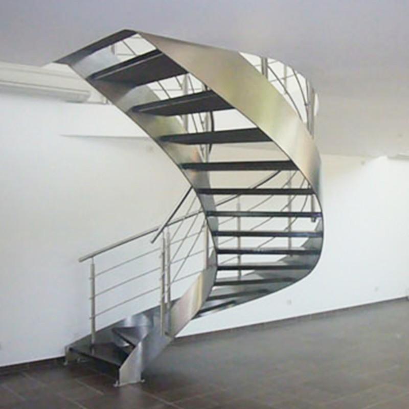 Escalier Helicoidal En Inox Modele Times