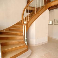 Escalier en bois sur-mesure