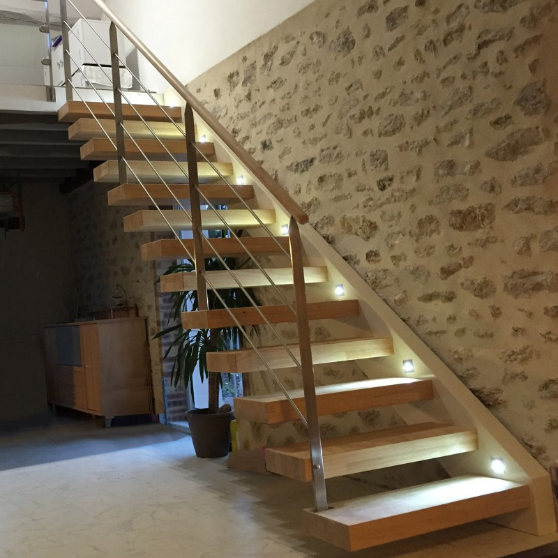 Escalier design en bois - Modèle Bayern