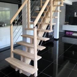 Garde-corps d'escalier sur-mesure