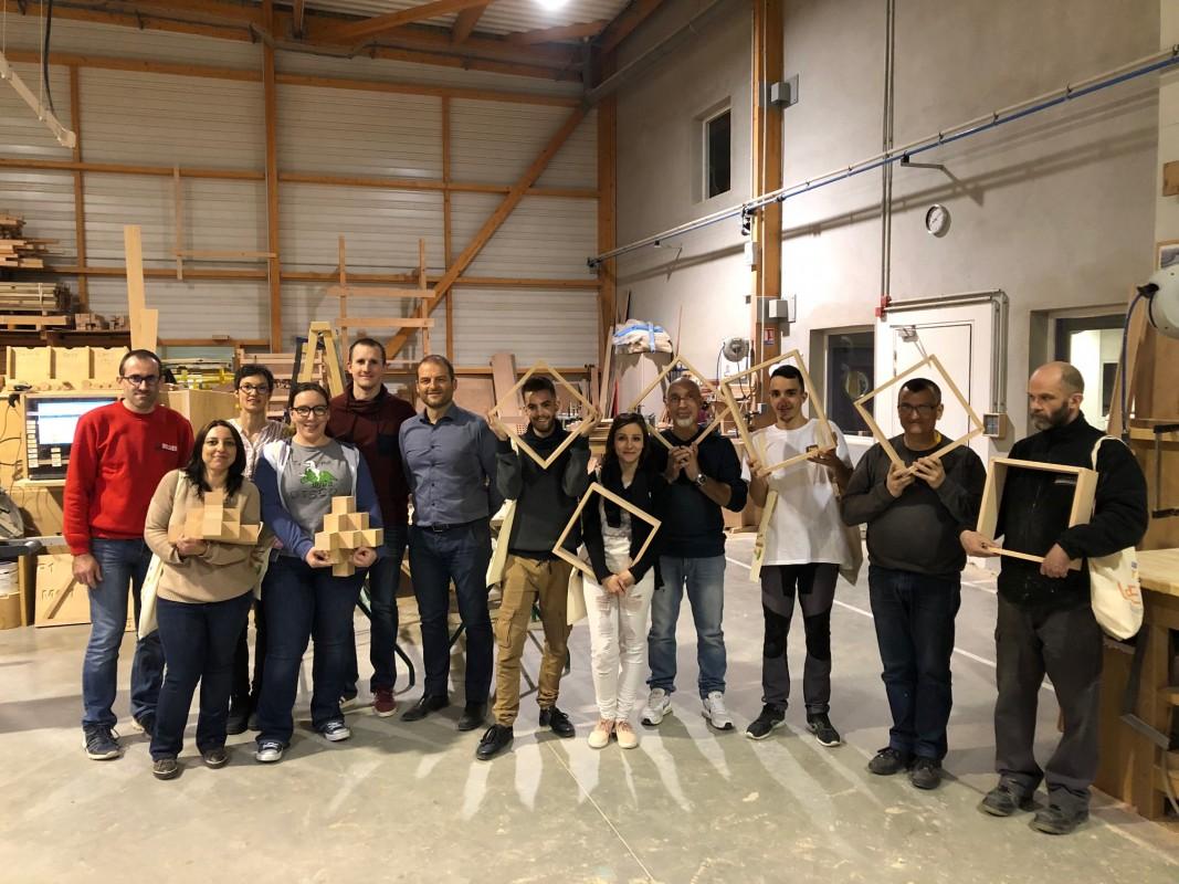 Cours de menuiserie et fabrication d'objet en bois à Orléans, Loiret