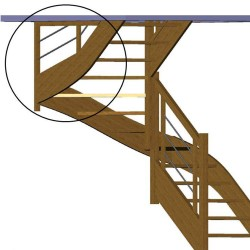 Claustra pour escalier