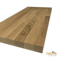 Plan de travail en bois chêne massif sur mesure