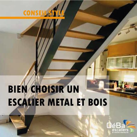 Comment choisir un escalier métal et bois ?