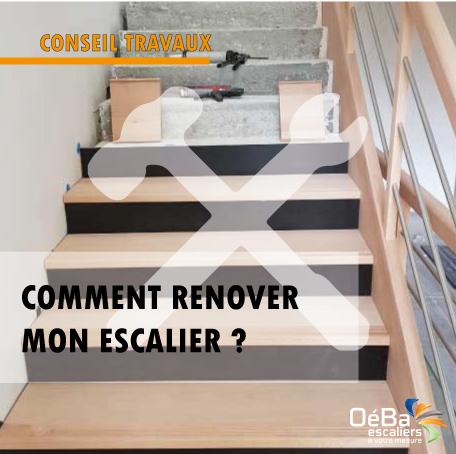 Conseils travaux : comment rénover son escalier intérieur en bois ?