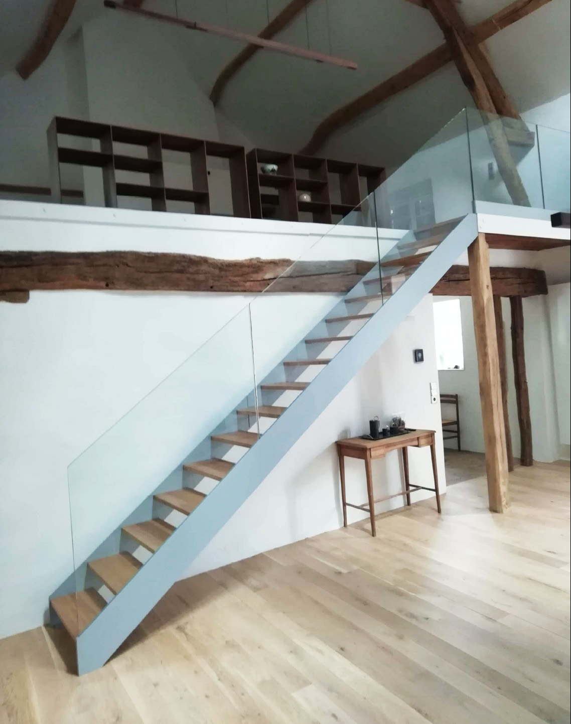 Escalier Interieur Maison Moderne pourquoi et comment choisir un escalier métal et bois ? | oéba