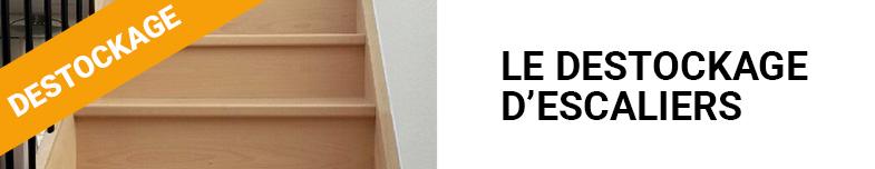 Destockage d'escaliers neufs et d'occasion en bois et en métal