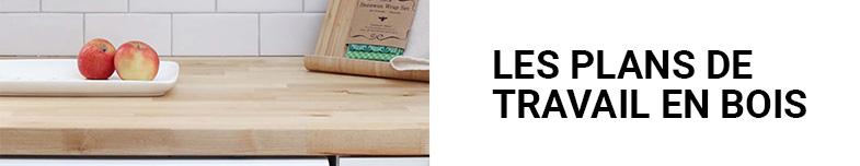 Les plans de travail en bois sur mesure Oéba