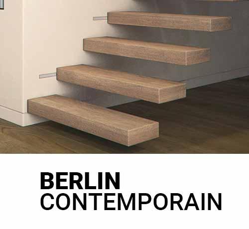 Escalier en bois design et fabriqués sur mesure en France