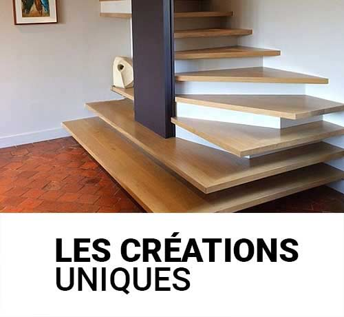 Création et installation d'escalier sur mesure uniques par Oéba